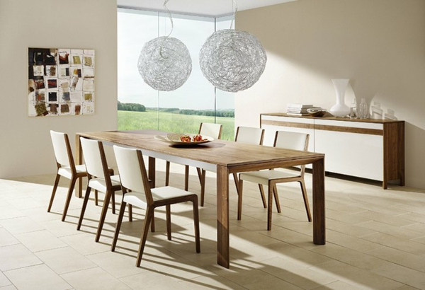 idee-deco-salle-a-manger-tables-abat-jours