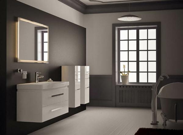Eclairage salle de bain au dessus miroir id es novatrices de la conception et du mobilier de for Eclairage salle de bain au dessus miroir