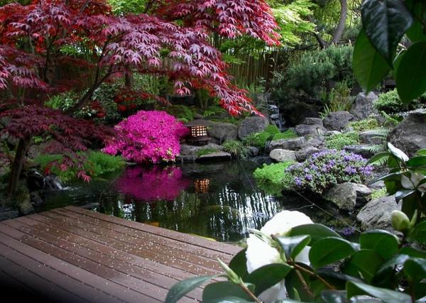 Fond ecran jardin japonais x jardin japonais jardin - Amenagement jardin japonais nanterre ...