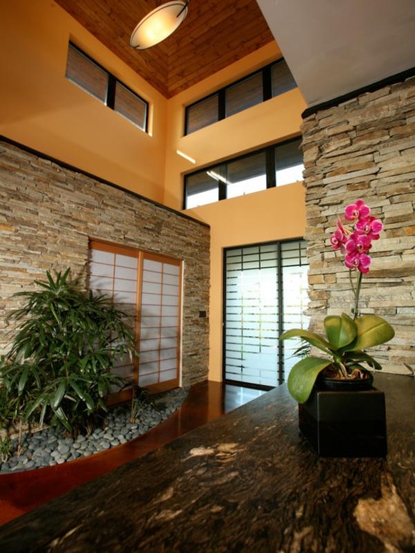 Interieur japonais moderne dcoration duintrieur moderne - Jardins japonais interieur de maison design fukuyama ...
