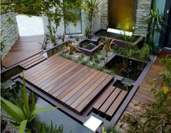 Id es de jardin zen for Photo petit jardin zen
