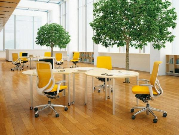 jaune-fauteuil-de-bureau-ergonomique