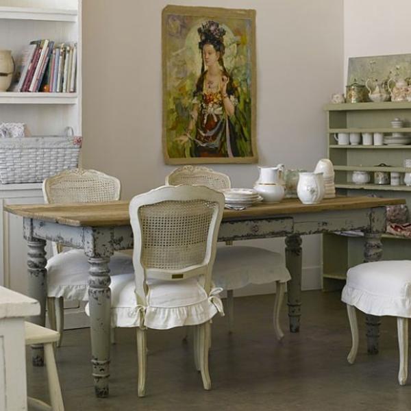 26 id es de salle manger design en vintage style for Jolie salle a manger