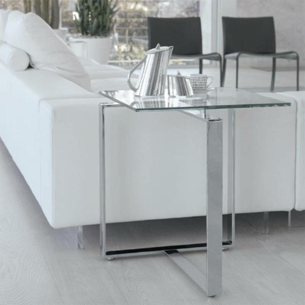 Grande table de salon en verre for Grande table de salon