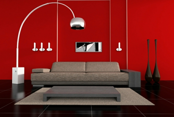 lampadaire-fly-salon-rouge