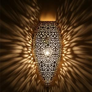 Une lampe marocaine va illuminer vos intérieurs et les emplir d'une magie orientale