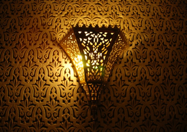 lampe-marocaine-en-forme-originelle