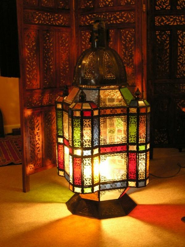 lampe-marocaine-multicolore