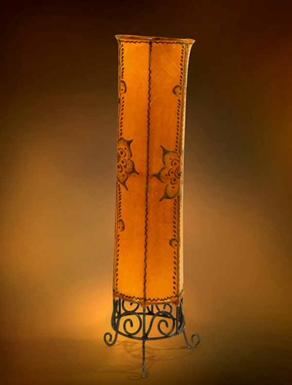 lampe-marocaine-orange