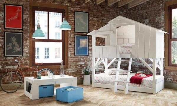 lit-d'enfant-original-maison-blanche