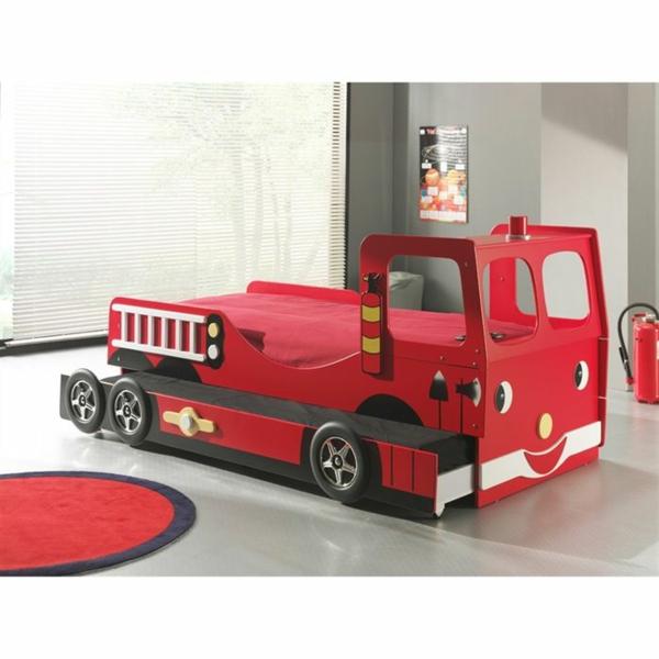 lit-d'enfant-original-camion-rouge