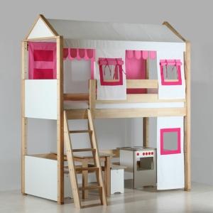 Un lit mezzanine pour enfant - des idées en photos!