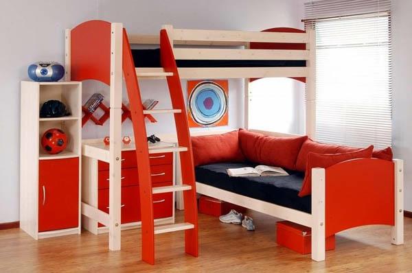 lit-mezzanine-pour-enfant-rouge-2