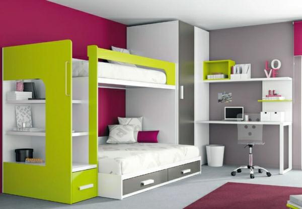 Un lit mezzanine pour enfant des id es en photos - Lit superpose pour petit ...