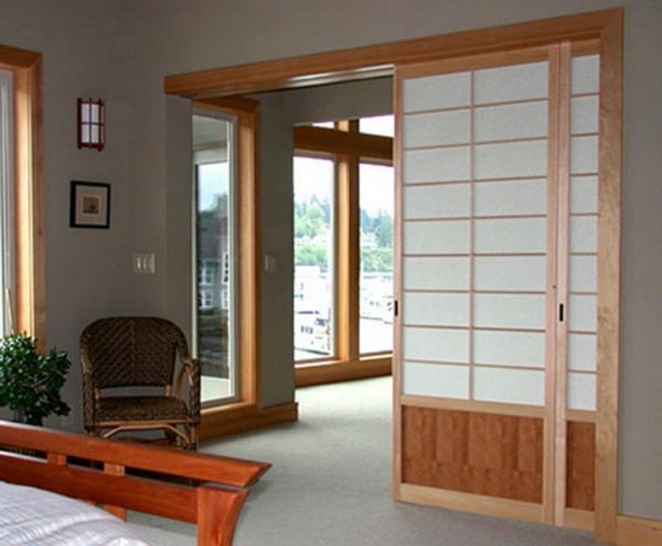 Une Cloison Japonaise Du Style Et De L Intimit 233 Dans L