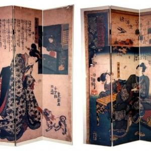 Une cloison japonaise - du style et de l'intimité dans l'intérieur