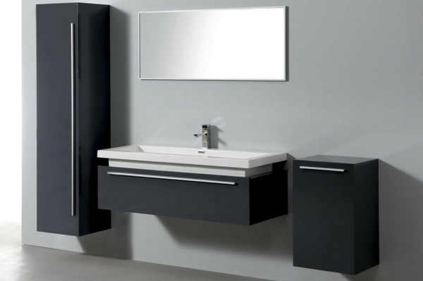 Le meuble colonne de salle de bain for Meuble de salle de bain en bois pas cher