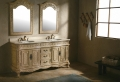 Le meuble salle de bain à double vasque convient à une salle de bain jolie et moderne