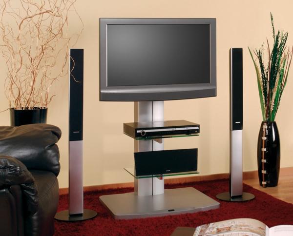 Le meuble tv design et style pour l 39 int rieur for Meuble tv haut