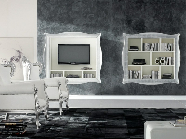 le meuble tv design et style pour l 39 int rieur. Black Bedroom Furniture Sets. Home Design Ideas