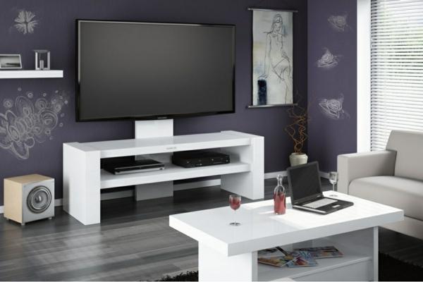 Le meuble TV  design et style pour lintérieur -> Table Pour Tv