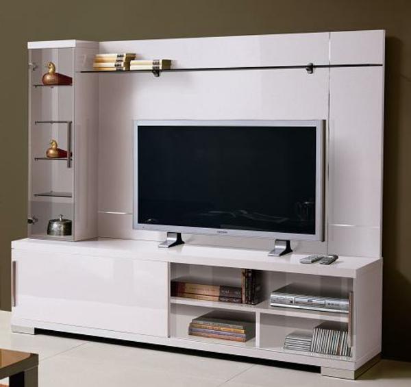 Le meuble tv design et style pour l 39 int rieur for Meuble tv moderne
