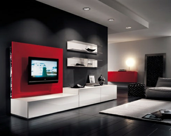 meuble tv d angle en bois valdiz. Black Bedroom Furniture Sets. Home Design Ideas