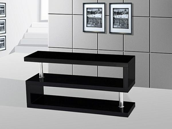 Le meuble tv design et style pour l 39 int rieur - Meuble en forme d escalier ...