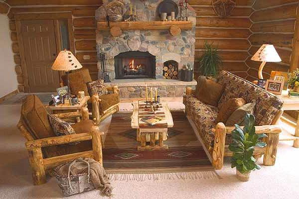 meubles-bois-brut-salle-de-sejour-rustique