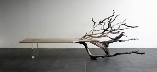 meubles-bois-brut-table-avec-branches