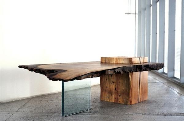 Chambre Style Anglais Moderne : Les meubles bois brut la tendence et le style nature sont là