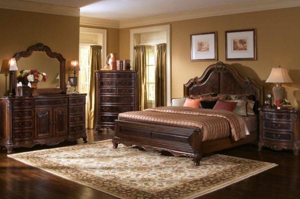 meubles-indiens-chambre-à-coucher-moderne
