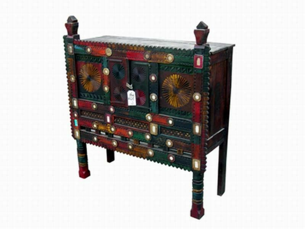 meubles indiens un rack antique indien