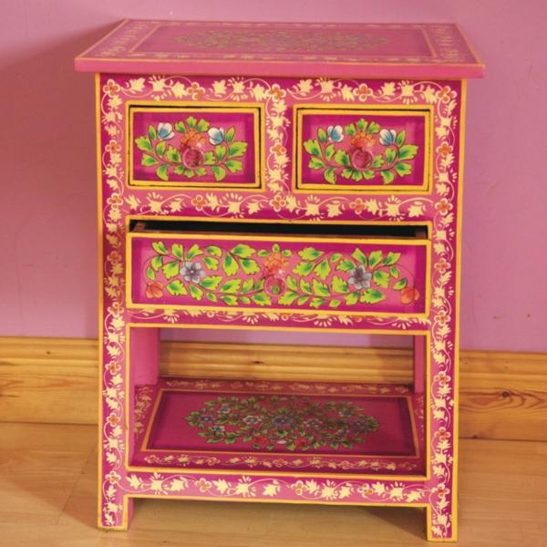 meubles-indiens-un-rack-dessiné