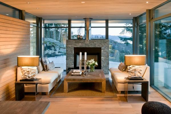 meubles-rustiques-salle-de-séjour-splendide