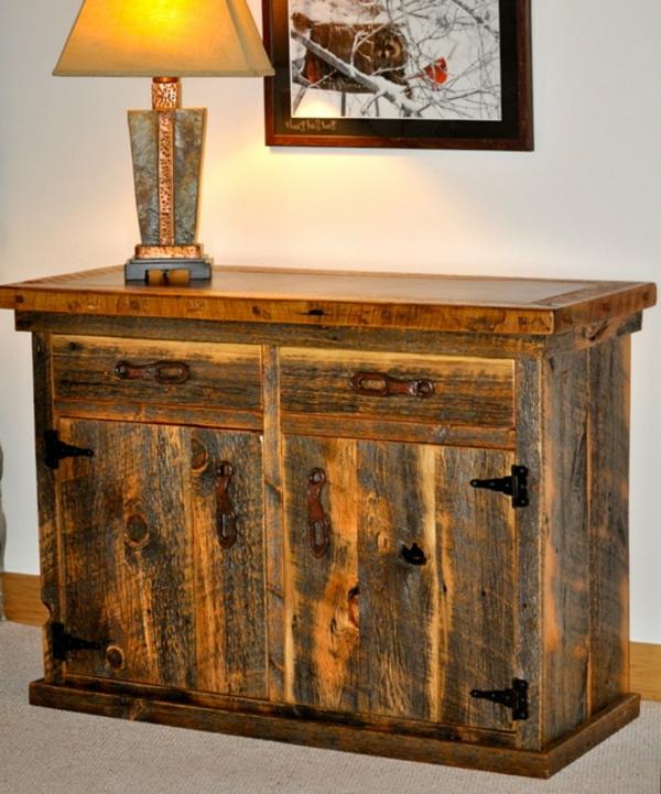 Les meubles rustiques traditionnels cr ent une ambiance - Meubles traditionnels ...