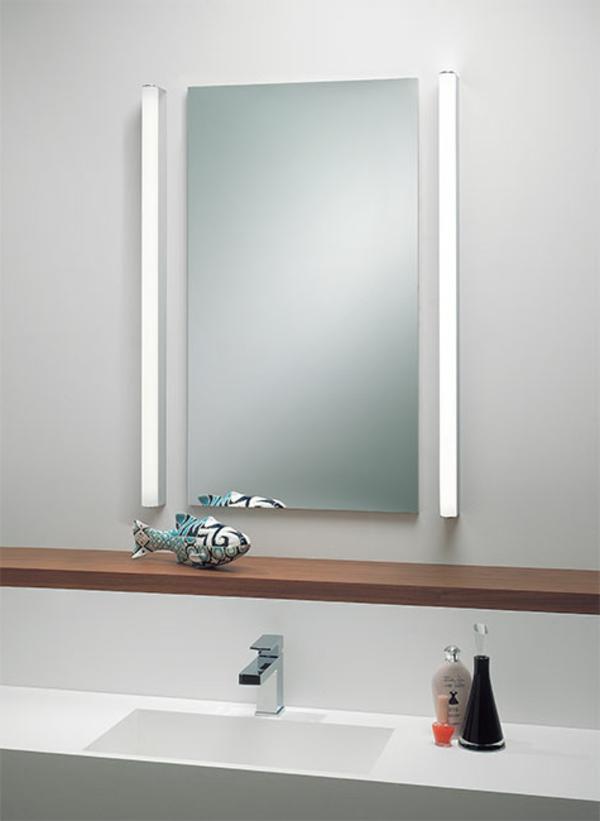 minimliste-design-éclairage-de -miroir-pour-la-salle-de-bain