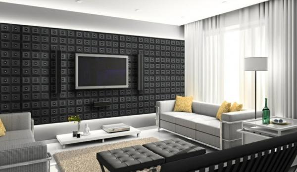 noir-panneau-décoratif