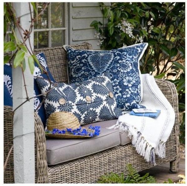 original-bleu-folrals-coussins-de-chaise-pour-le-jardin