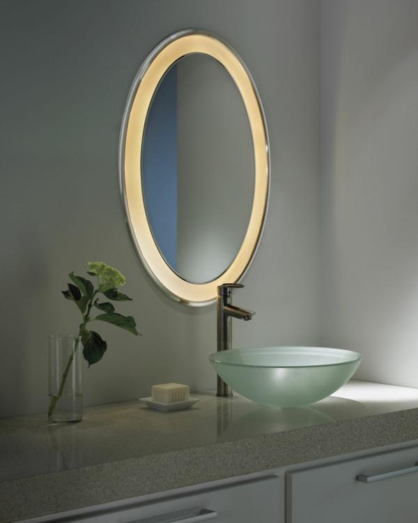 ovale-éclairage-de -miroir-pour-la-salle-de-bain