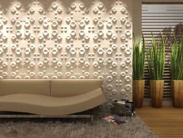 Les panneaux d coratifs muraux changent de mani re - Simulateur decoration interieur gratuit ...