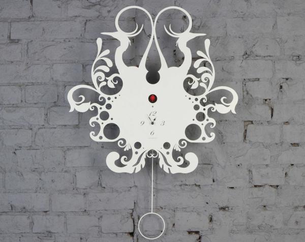 pendule-murale-design-blanc