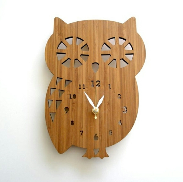 pendule-murale-design-un-hibou