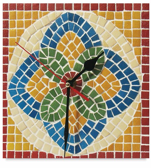 pendule-murale-design-mosaique