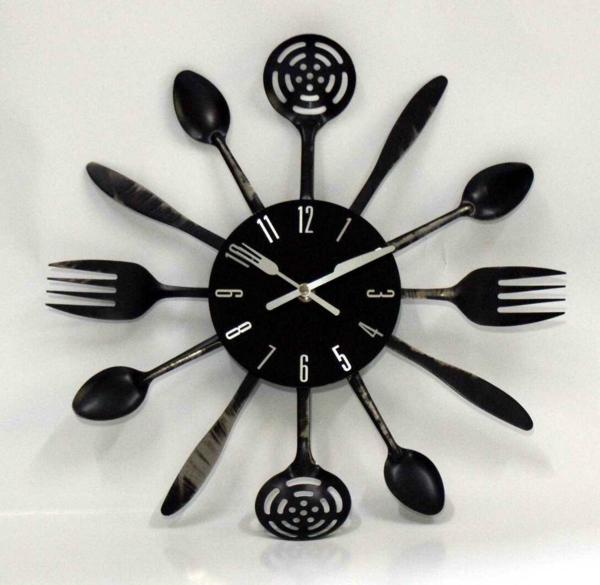 Le pendule murale design 29 propositions - Pendule de cuisine murale ...