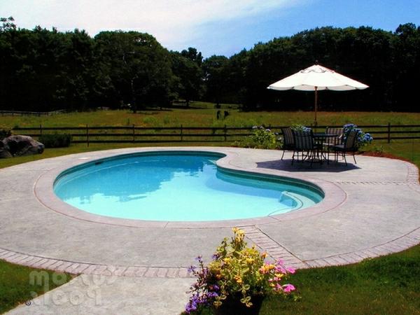 49 mod les piscine creus e en forme de rein - Petite piscine design ...