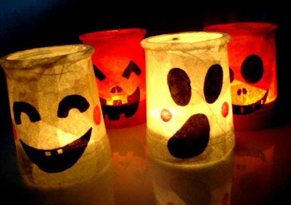 un photophore halloween illuminera vos f tes la maison. Black Bedroom Furniture Sets. Home Design Ideas