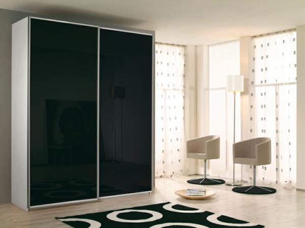 porte-de-dressing-coulissante-des-portes-noires-minimalistes