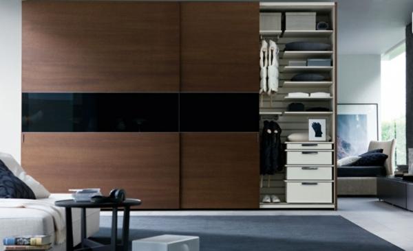 porte-de-dressing-coulissante-en-noir-et-brun