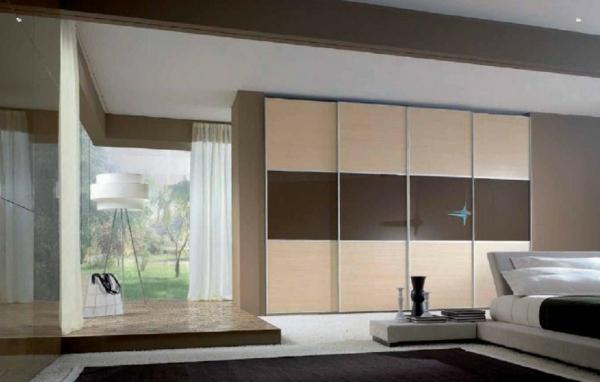 la porte de dressing coulissante garantit un style moderne. Black Bedroom Furniture Sets. Home Design Ideas